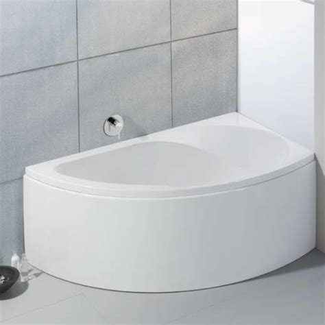 badewanne 140 x 140 hoesch spectra corner bath right with panel white 3661