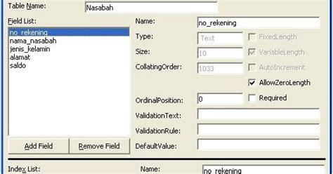 Membuat Aplikasi Web Berbasis Jsp membuat aplikasi tabungan bank dengan vb 6 0 tugas siswa