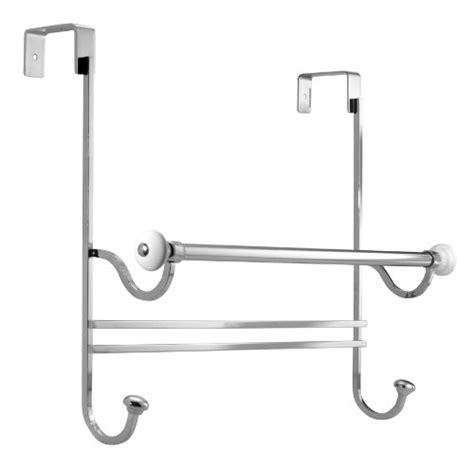 Interdesign York Over The Shower Door Towel Rack White The Shower Door Towel Rack