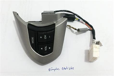Sparepart Mobilio wts tombol stir audio honda mobilio brio steering wheel audio controls spare part aksesoris