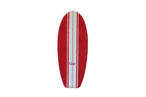 surfboard bathroom rugs red and white surfboard rug products i love pinterest