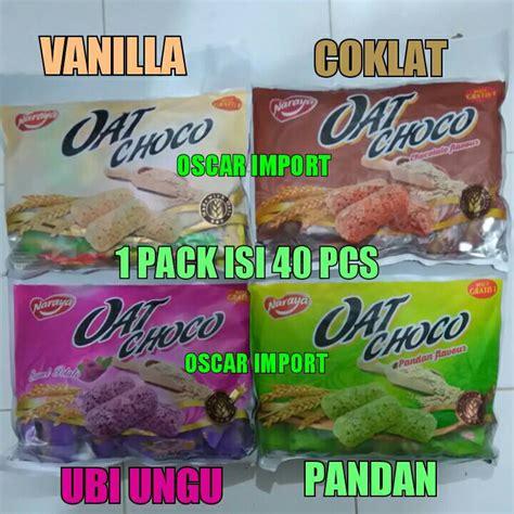 Naraya Oat Choco 90gr jual naraya oat choco isi 40pcs oscar import