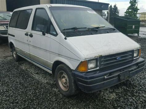 blue book used cars values 1991 ford aerostar windshield wipe control auto auction ended on vin 1fmca11u6mza30232 1991 ford aerostar in or eugene