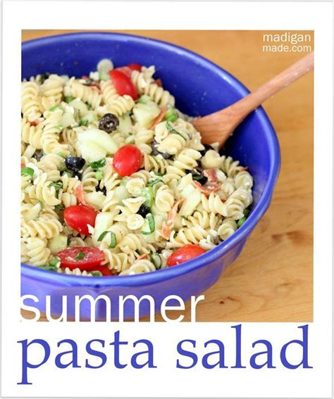 recipe of the week summer pasta salad fundcraft 173 best images about i m hungry on pinterest chicken