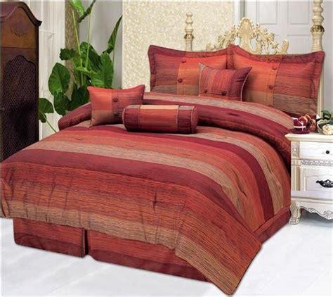 rust comforter set fairmont rust 7 pc comforter set queen 97 99