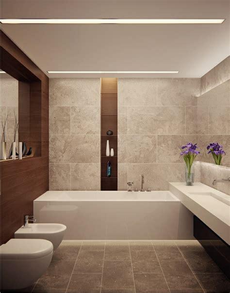 Ultra Modernes Badezimmer by Badbeleuchtung F 252 R Decke 100 Inspirierende Fotos