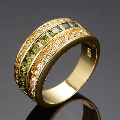 get cheap mens peridot ring aliexpress