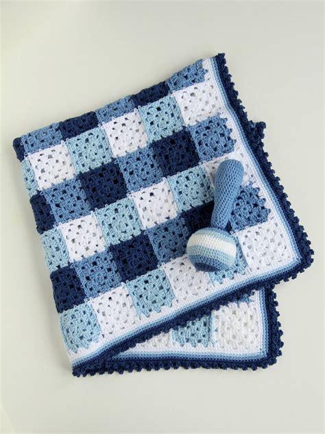 cute pattern blanket crochet pattern baby blanket and rattle by crejjtion on