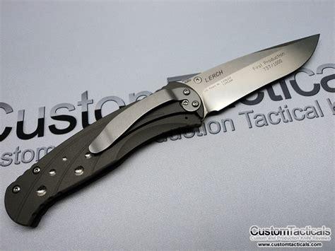 benchmade lerch benchmade 790 lerch subrosa knife review knife reviews