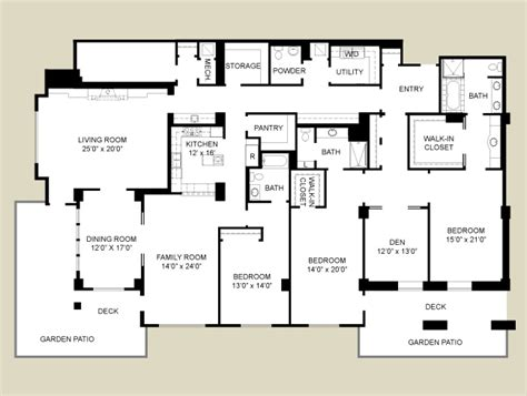 retirement home floor plans house plans and home designs free 187 archive 187 retirement home plans
