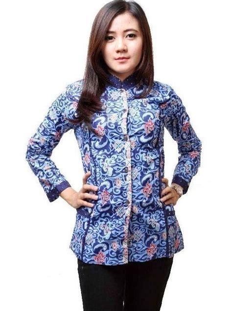 Baju Ok Untuk Wanita Pria Lengan Panjang ッ 31 model baju batik kantor wanita lengan panjang modern terbaru