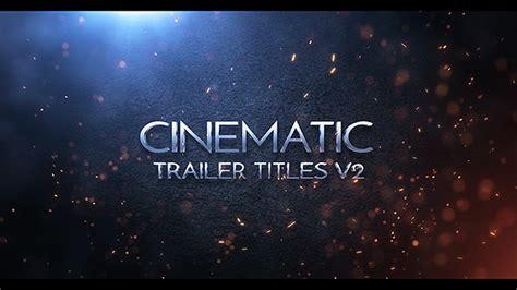 Ae模板 E3d大气三维金属火花金属质感标志logo开场片头 免费下载视频 网络排行榜 After Effects Trailer Template Free