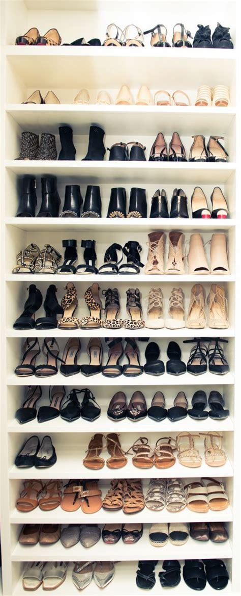 In Closet Shoe Organizer by Best 25 Shoe Closet Ideas On Closets
