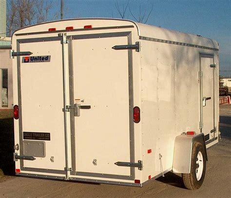 Trailer Back Door by Atlas Specialty Trailer United Utility Auto Hauler