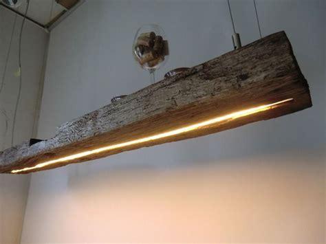 3 punkt beleuchtung h 228 ngele aus antiken balken leds warmweiss peka