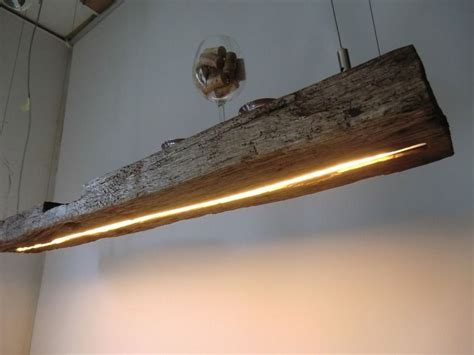 beleuchtung vintage h 228 ngele aus antiken balken leds warmweiss peka