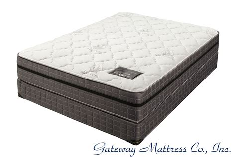 pillow top mattresses by gateway mattress company