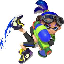 inkling boy splatoon alt colors desc minecraft skin