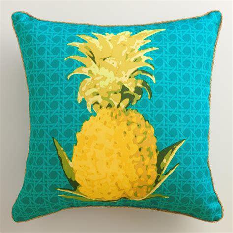 world market pillows sale pineapple outdoor throw pillow world market