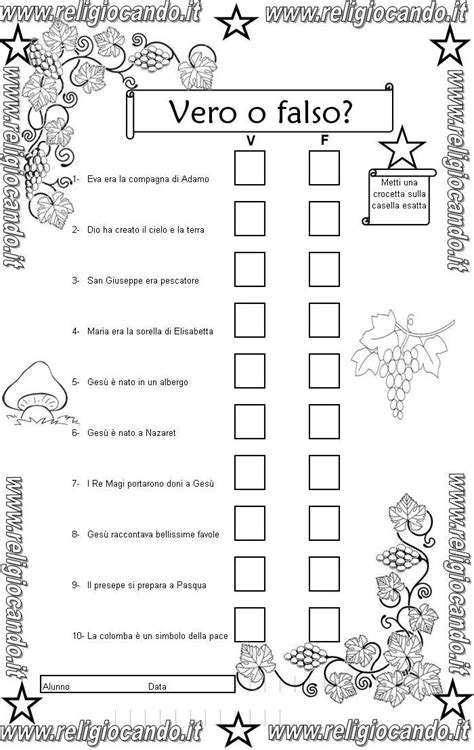 prove d ingresso classe seconda primaria prova d ingresso di religione cattolica per la classe