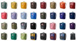 kanken colors fj 228 llr 228 ven kanken viele farben schwedischer kult