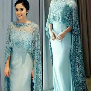Dress Shereen Maxi Brukat Import model baju gaun maxy dress brukat cantik murah terbaru