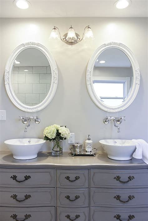 best paint for bathroom vanity how to turn a vintage french dresser into a double sink