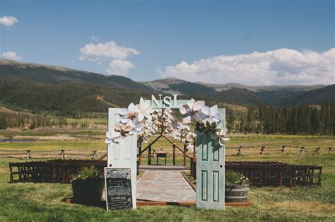Wedding Arch Using Doors by Belize Mountain Book Covers