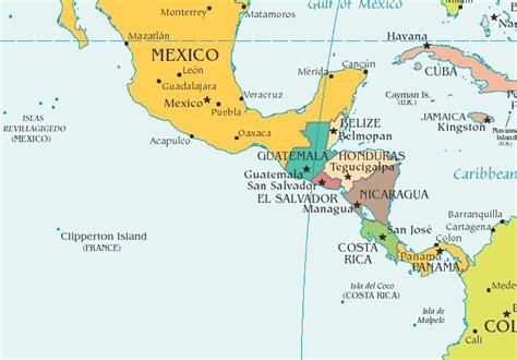 map of central central america trans american railroad company