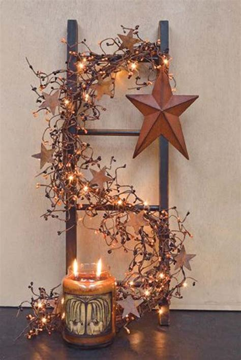 country stars decorations for the home stunning rustic christmas decorations christmas