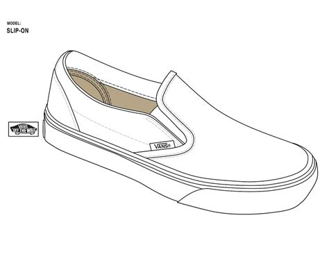 slip on official templates straight from vans designers