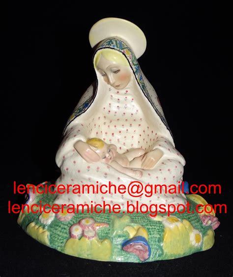 vacchetti catalogo lenci ceramiche madonna dei gigli autore sandro