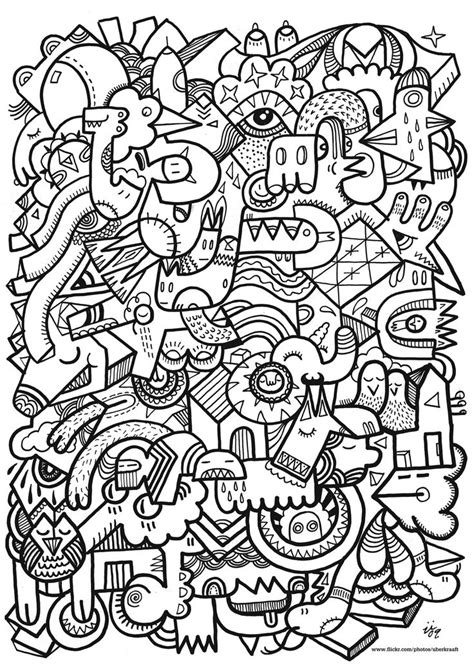 doodle patterns for colouring http freecoloringpagesite com coloring pics patterns for