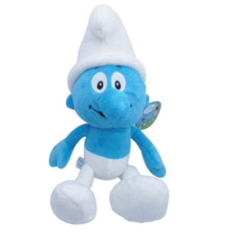 smurfs smurf and more smurfs soft toy 36 cm was sold