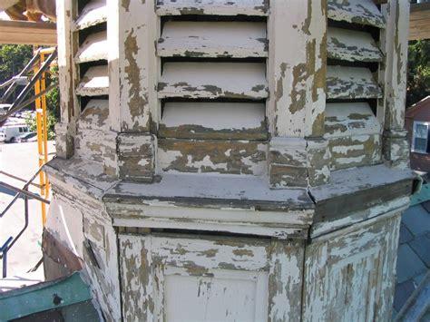 a cupola repairing a cupola