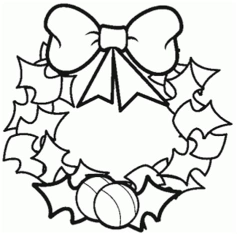 preschool wreath coloring page christmas wreath coloring pages crafts and worksheets