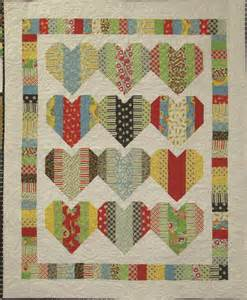 17 best images about hearts quilts on