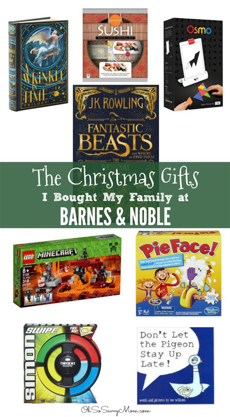 Where Can You Get Barnes And Noble Gift Cards - gifts at barnes noble for the whole family books toys and more oh so savvy mom