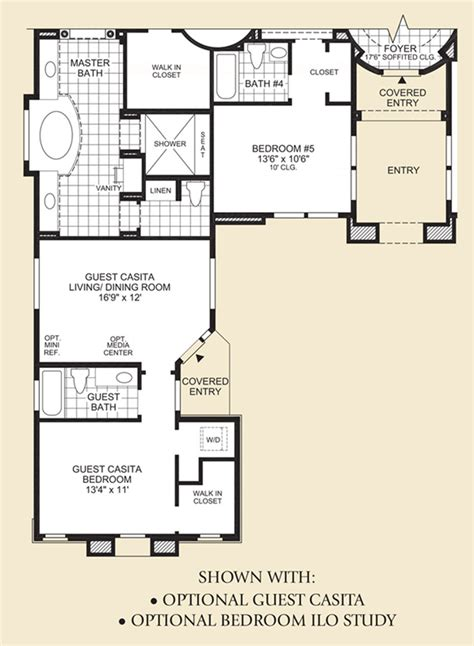 casita floor plans az saguaro estates the venado home design