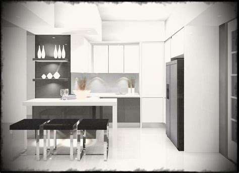 15 simple and minimalist kitchen space designs home design lover fabulous minimalist kitchen design for small space house