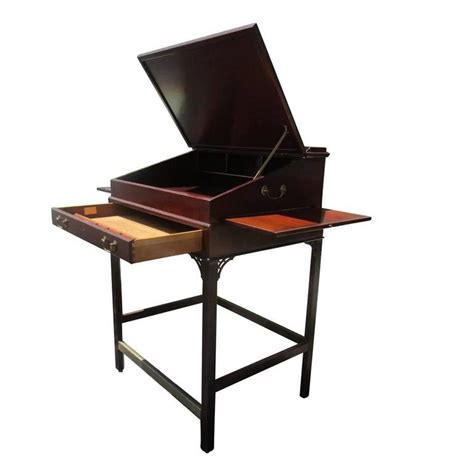 Kittinger Desk by Vintage Kittinger Stand Up Desk At 1stdibs