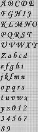 17 best ideas about cross stitch alphabet patterns on