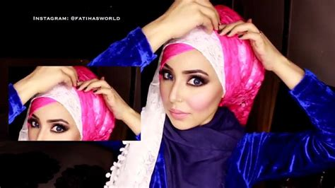 tutorial hijab on dailymotion tutorial hijab with the criss cross style hijabiworld