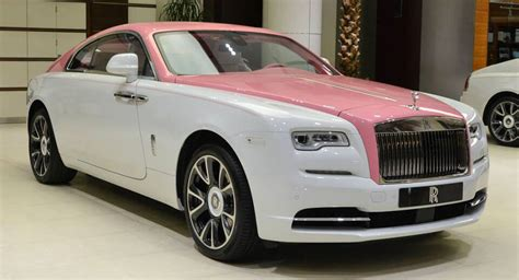 roll royce pink barbie s rolls royce wraith awaits in abu dhabi
