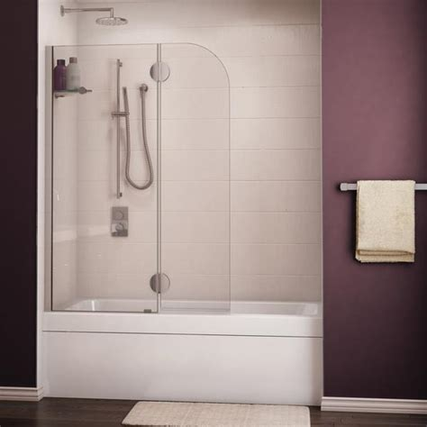 Fleurco Tub Shield Evolution Monaco Round Top Tub Shield Evo Shower Doors