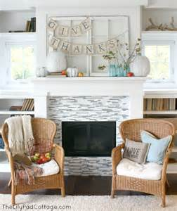 2013 decorating ideas thanksgiving mantel decor the lilypad cottage