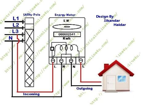 kilowatt hour meter wiring diagram wiring diagram and
