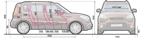 Dimensions Of Kia Soul Kia Soul руководство по ремонту и эксплуатации