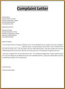 Complaint Letter About The Manager 6 Formal Letter Format To Manager Financial Statement Form