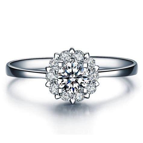 Verlobungsring Diamant Wei Gold by Die Besten 17 Ideen Zu Verlobungsringe Auf